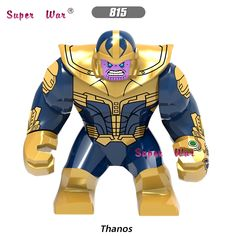 50pcs Model Building Blocks Infinity War Iron Man 50 Spider-man Ebony Maw Thor Doctor Strange Black Widow Star-lord Kids Toys Let Our Commodities Go To The World Blocks