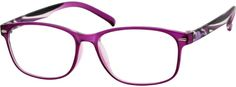 Order online, women's purple full rim acetate/plastic wayfarer eyeglass frames model #245017. Visit Zenni Optical today to browse our collection of glasses and sunglasses.