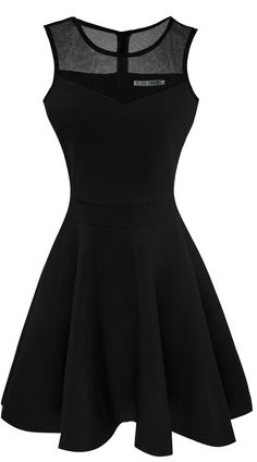 Women's A-Line Sleeveless Pleated Little Black Cocktail Party Dress:Summer Fashion: Spring Outfits:Casual Outfits:Beach Outfits:Cute Outfits:Summer Dress