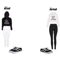 lisa and lena Cute Outfits For School, Cute Swag Outfits, Cute Summer Outfits, Outfits For Teens, Stylish Outfits, Fashion Outfits, Twin Outfits, Teenager Outfits, Lisa And Lena Clothing