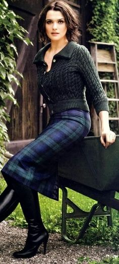 Monday Inspiration ENGLISH COUNTRYSIDE, FALL FASHION, PLAID, TARTAN