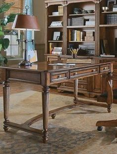 The Brookfield Writing Desk is the perfect addition to your den or office that will features a broad, smooth surface and smart storage that will help you accomplish all your important tasks.