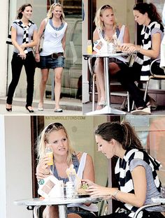 Kate having lunch with Emma Sayle.. July 27th 2007