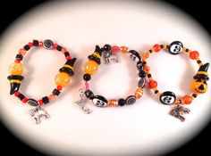 WHICH WITCH  Pug Halloween Bracelet  Witch by WhimsicalMystical