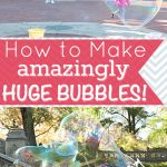 This super strong bubbles recipe shows how to make super bubbles to bounce, hold or juggle. Perfect for fun with babies and kids, these amazing bubbles are almost unbreakable and they last a long time! Giant Bubble Recipe, Homemade Bubble Recipe, Homemade Bubbles, How To Make Homemade, Super Bubbles, Giant Bubbles, Childcare Activities, Toddler Activities, Baby Crafts
