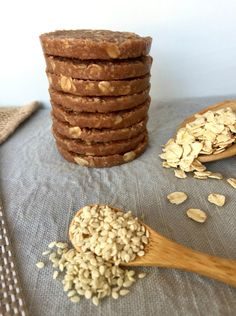 These healthy No Bake Tahini Coconut Cookies are just 90 calories each, making them an ideal snack when you are following a healthy eating plan.