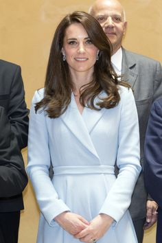 Catherine, Duchess of Cambridge on a visit to the Luxembourg City Museum on May 11, 2017 in Luxembourg.