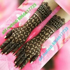 Arabic Bridal Mehndi Designs, Palm Mehndi Design, Wedding Henna Designs, Mehndi Desing, Henna Art Designs, Mehndi Designs For Girls, Modern Mehndi Designs, Dulhan Mehndi Designs, Mehndi Designs For Fingers