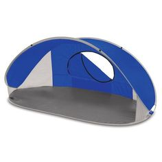 The Manta Sun Shelter is portable and compact. Designed to set up in seconds, this open-front tent can be used wherever you might need protection against the sun or wind and has a UPF 50+ rating.