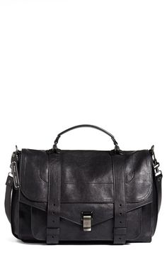 Proenza Schouler 'Large PS1' Satchel at Nordstrom.com. Spark accessory envy with Proenza Schouler's iconic PS1 satchel, cast in supple lambskin leather and a wear-with-everything hue.