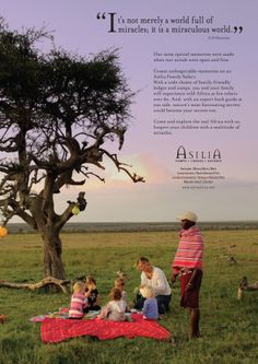 """You are braver than you believe, stronger than you seem and smarter than you think"" winni the pooh. /Asilia Africa family safaris"
