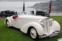1935 Model Audi 225 Front Special Roadster