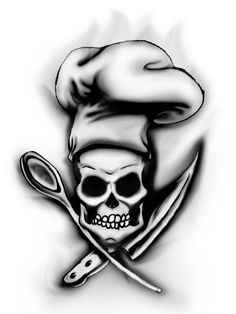 chef skull by megamike75
