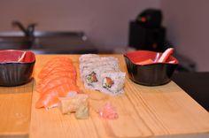 Sushi platter. Japanese time.