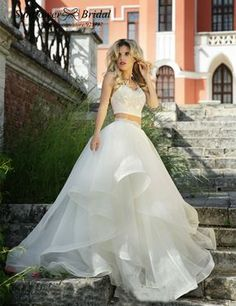 Cheap gowns for kids sale, Buy Quality dresses orange directly from China dresses to wear out Suppliers: 2016 Lace Wedding Dress With Sleeves High Low Wedding Dresses Two Piece Wedding Dress Real Photo Sheer Illusion Beach Po