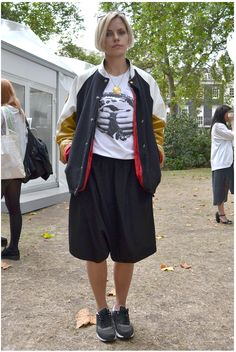 #LFW day 5: Everyone's wearing bomber jackets and sneakers