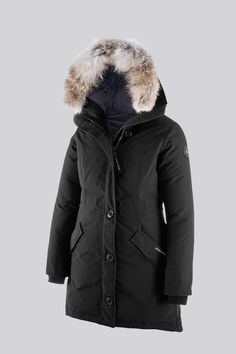 Canada Goose Womens Rossclair Parka Black XSmall >>> Find out more about  the great product at the image link. (It is an affiliate link and I receive  ...