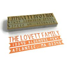 Etsy shop with the most exquisite handmade rubber stamps.