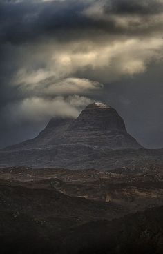 Photograph Suilven by Peter  Hallam on 500px