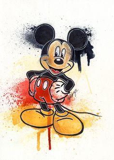 Mickey Mouse by LukeFielding.deviantart.com on @deviantART