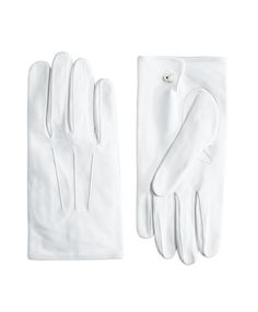 White Formal Gloves - Brooks Brothers