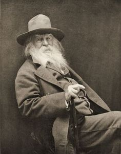 Walt Whitman American Poet From The Book The International Library Of Famous LiteraturePublished In London 1900 Volume Xviii Canvas Art - Ken Welsh Design Pics x Walt Whitman, Writers And Poets, Writers Write, Max S, Mark Doty, Book Authors, Books, American Poets, American History