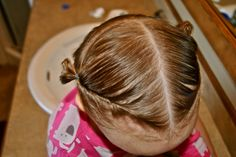 15 hair styles for little girls with little hair :)