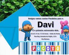 Convite Pocoyo