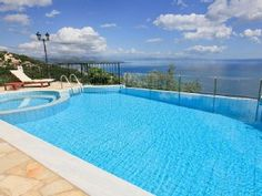 Luxury 2 Bedroomed Villa in Nissaki, Private Pool, Stunning Sea ViewsHoliday Rental in Nisaki from @HomeAwayUK #holiday #rental #travel #homeaway