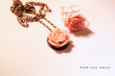 Rose Necklace & Ring