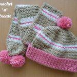 Crochet Childs Hat-Scarf uk