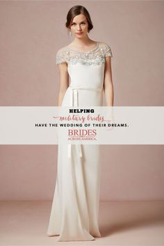 Brides Across America is hosting a Nationwide Wedding Gown Giveaway! If you can help donate please do. If you are a bride in need of a wedding gown please check out this amazing giveaway! http://bridesacrossamerica.org/get-a-gown/
