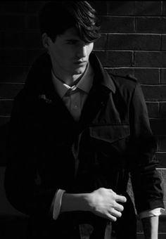 YSL by Creative, Art, Photo, Fashion Director & Stylist Vinny Michaud with Model Arthur Daniyarov. Designer Mens Fashion by Stylist Vincent Michaud.