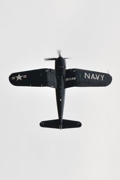 Fly over. F4U Corsair dive bomber, one of my favorite planes from WW2 as a kid.