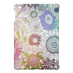 Sunflower Expression Case For The iPad Mini