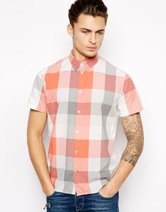 // paul smith jeans shirt w/ bold check