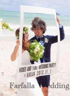((✰ 手作りフォトプロップスその② |((⋈ shocoのHawaii Weddingブログ・・ShocomocoloppinG・・|Ameba (アメーバ)