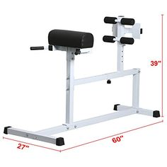 Yaheetech Hyper Extension Workout Training Bench Back Exercise Bench Style  B * Click Image To Review