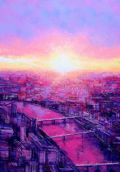 Waterloo Sunset (View from The Shard)