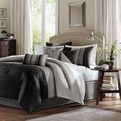 http://www.kohls.com/product/prd-c26987/madison-park-infinity-7-pc-comforter-set.jsp    Madison Park Infinity 7-pc. Comforter Set