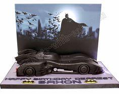 Celebrate with Cake!: Batmobile