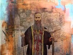 Τι έβλεπε ο Γέροντας Ιάκωβος Τσαλίκης όταν κοινωνούσε τον κόσμο; Christian, Painting, Youtube, Painting Art, Paintings, Painted Canvas, Christians, Youtubers, Drawings