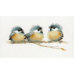 3 Vogeltjes (Sitting pretty) : Vogels - De Spinnerij