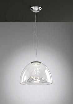 Suspension LED en verre soufflé MOUNTAIN VIEW by AXO LIGHT design Dima Loginoff