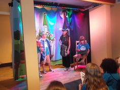 Exercise your imagination while learning about the theater!