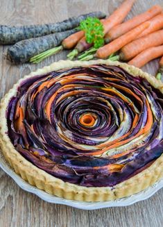 Although it takes a little while to make it, this delicious savory tart will turn into a great meal! Spiral Shape, Savory Tart, Ratatouille, Matcha, Pie, Meals, Ethnic Recipes, Desserts, Blog