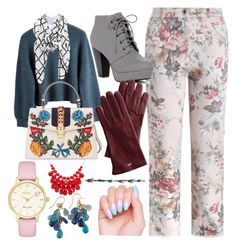 """February-March❤floral dressing  -dtz."" by andreea-cassandra on Polyvore featuring art"