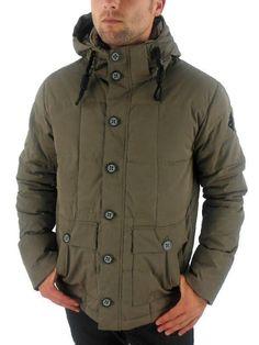 472bab0a30 O NEILL Mens Warrior Green Adventure Down Water Resistant Jacket Coat XXL  BNWT  fashion