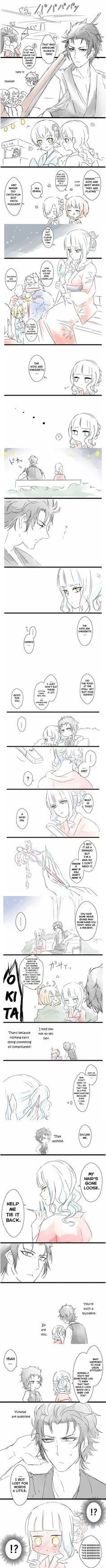 Hijikata x Carmilla hahahahaha nice one Okita!!
