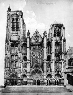 Bourges, Cathédrale Saint-Étienne - Mapping Gothic France